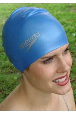 Swim Caps for Long Hair | Speedo Silicone Long Hair Swimming Cap