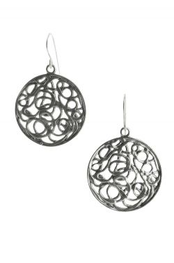 Sterling Silver Earrings | Abstract Spheres