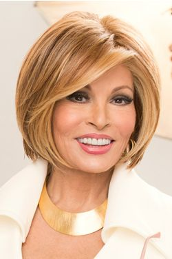 Straight Up With A Twist by Raquel Welch Wigs - Heat Friendly, Lace Front, Monofilament Top Wig