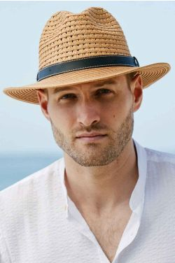 Vented Paper Braid Safari | Stylish Outdoor Hats for Men