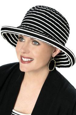 Contrast Ribbon Braid Sun Hat