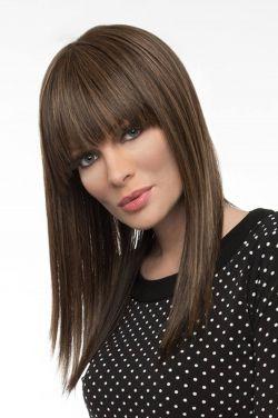 Taryn by Envy Wigs - Human Hair/Heat Friendly Synthetic Blend, Monofilament Top Wig