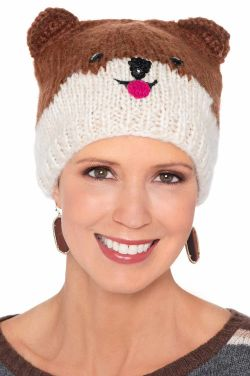 Puppy Character Beanie Hat | Cute Beanie for Women |