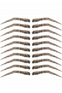 Eyebrow Tattoos #16: Basic Feathered Arched Brow