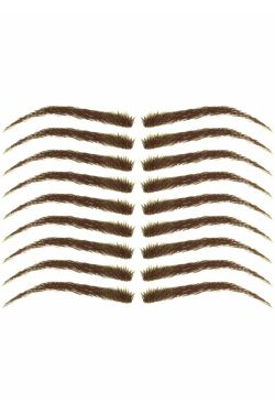 Eyebrow Tattoos #18: Medium Arc & Full Brow
