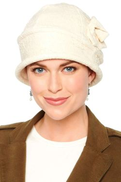 Textured Elizabeth Cloche Hat by Cardani