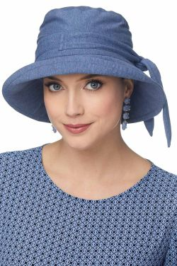 Bow Tie Sun Hat | Cardani Sun Protection UPF 50+ | 100% Cotton Hats with Aloe Vera Lining
