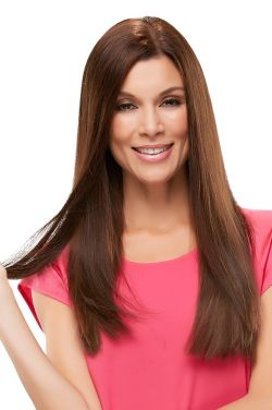 Top Form 18 Inch Human Hair Topper by Jon Renau Wigs