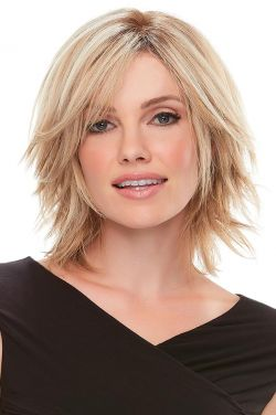 Top Form 6-8 Inch Human Hair Topper by Jon Renau Wigs - Double Monofilament, Remy Human Hair Topper