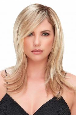 12 Inch Top Full Topper by Jon Renau Wigs - Synthetic Hair, Double Monofilament, Hand Tied Topper