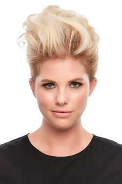 Top This 12 Inch Human Hair Topper by Jon Renau Wigs - Single Monofilament, Remy Human Hair Topper