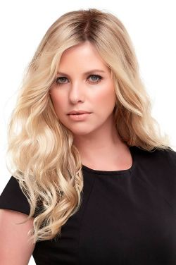 Top Wave 18 Inch Topper Hairpiece by Jon Renau Wigs - Monofilament
