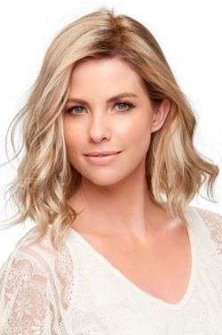 Top Wave 12 Inch Topper Hairpiece by Jon Renau Wigs - Monofilament