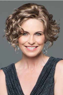 Tousled by Eva Gabor Wigs - Lace Front, Monofilament Part Wig
