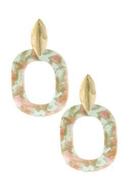 Tulipia Lucite Statement Earrings | Lead & Nickel Free Earrings