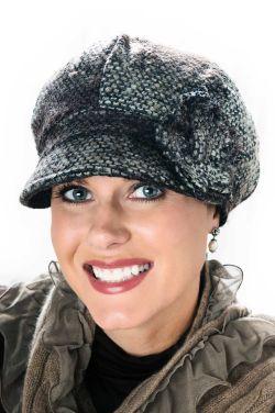 Tweed Melissa Newsboy Cap