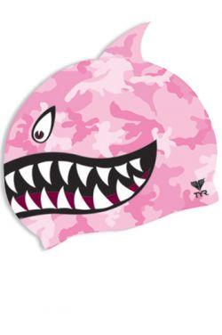 TYR Shark Silicone Swim Cap