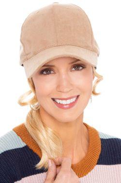 Ultrasuede Baseball Cap | Baseball Caps for Women
