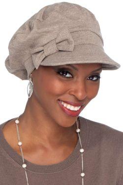 100% Cotton Ball Cap with Detachable Bow | Cardani Versatility Hat | UPF 50+ Sun Protection