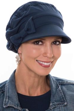 Versatility Newsboy Hat in Luxury Bamboo by Cardani