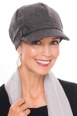 Wool Vivian Newsboy Hat