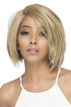 Jaret by Vivica Fox Wigs - Heat Friendly Synthetic, Lace Front, Monofilament Part Wig