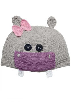 Cotton Crochet Hippo Hat