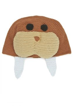Crocheted Walrus Hat for Kids