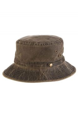 Weathered Cotton Bucket Hat | Sun Protection Hats for Men