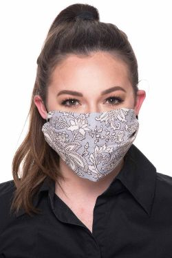 "Scarf for Face Mask | 30"" Woodblock Hand Stamped Scarves 