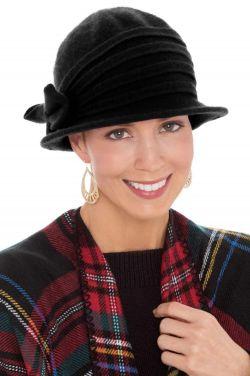 Gianna Wool Cloche Hat | Warm Winter Hats for Women