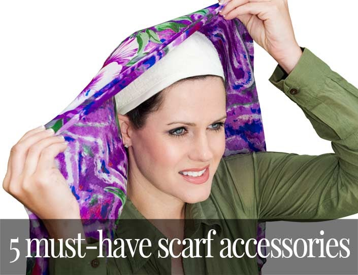 5 Must Have Head Scarf Accessories