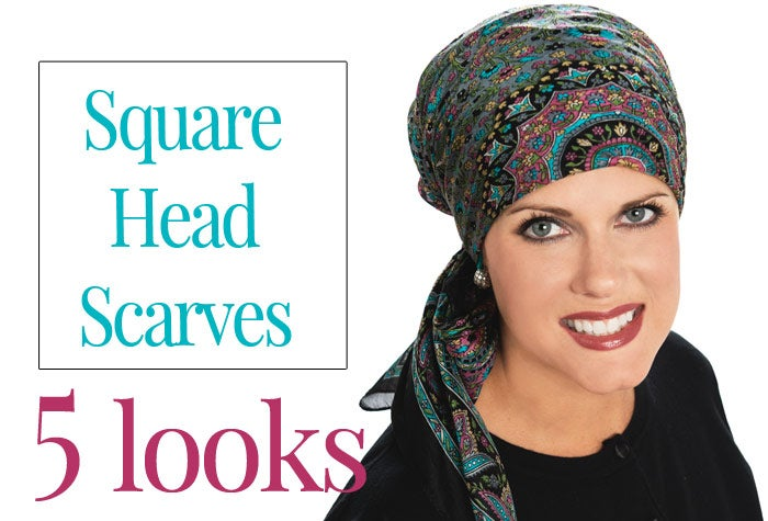 5 Ways to Tie a Square Head Scarf