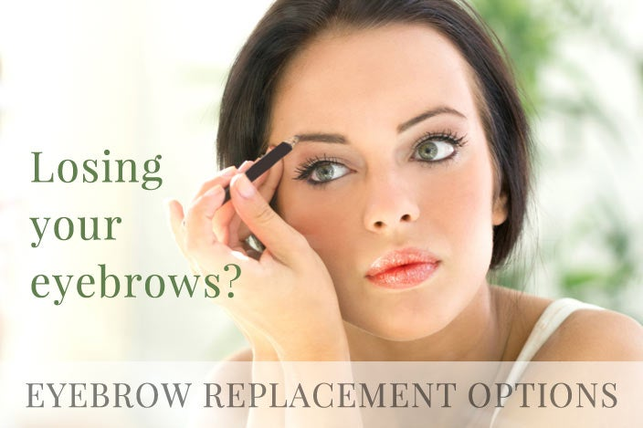 3 Eyebrow Replacement Solutions