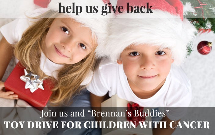 Christmas Toy Drive for Children with Cancer