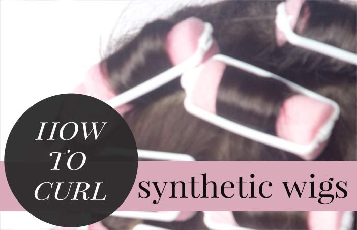 How to Curl a Synthetic Wig