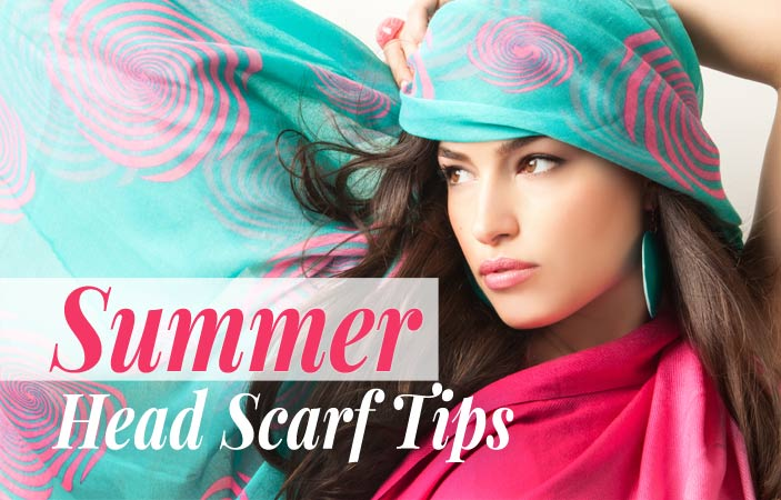 Summer Head Scarf Tips