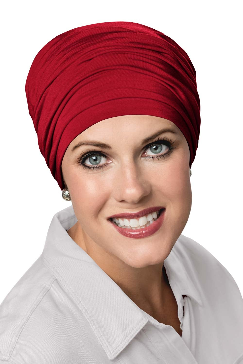 sophisticate-turban-bamboo-chemo-cancer-hat-salsa-red