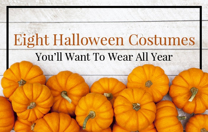 8 Halloween Costumes You Will Want to Wear All Year
