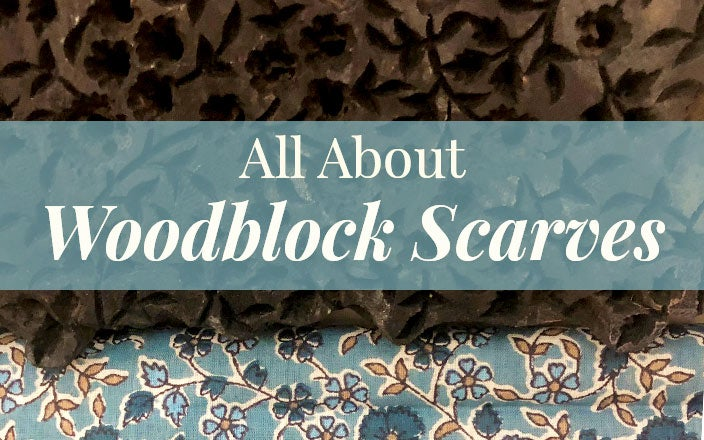 How Woodblock Scarves Are Made