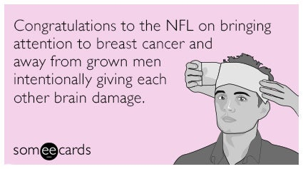 Breast cancer memes: NFL breast cancer awareness