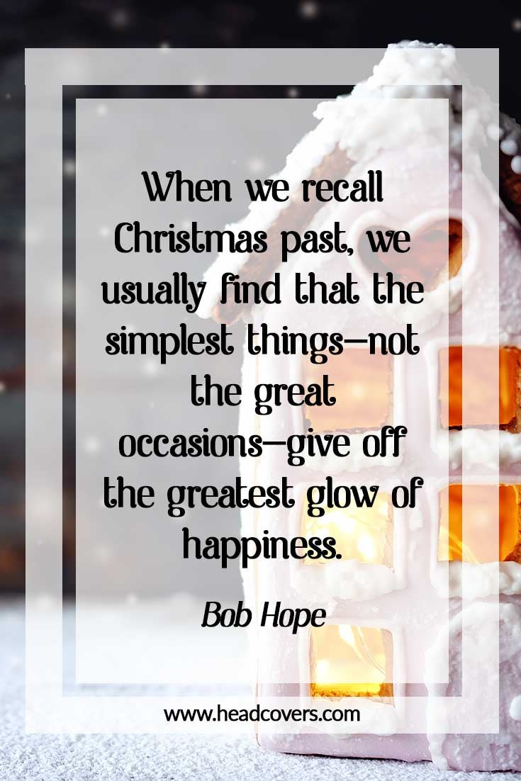 Inspirational Christmas quotes - Bob Hope