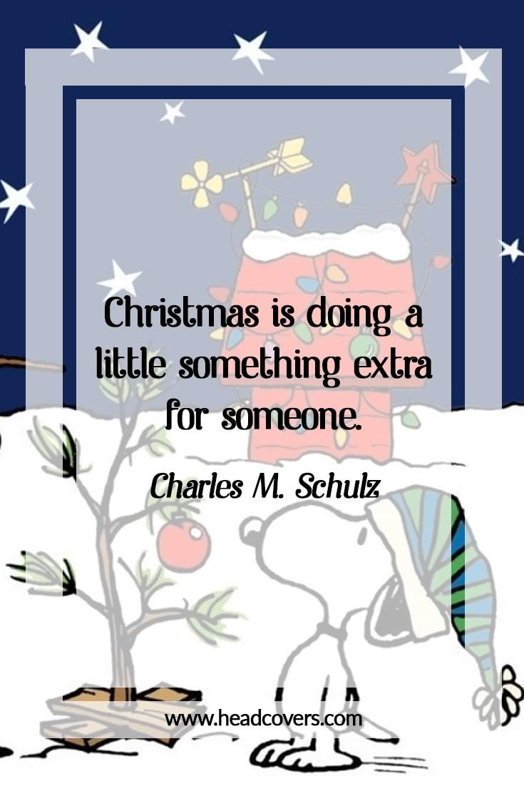 Inspirational Christmas quotes - snoopy