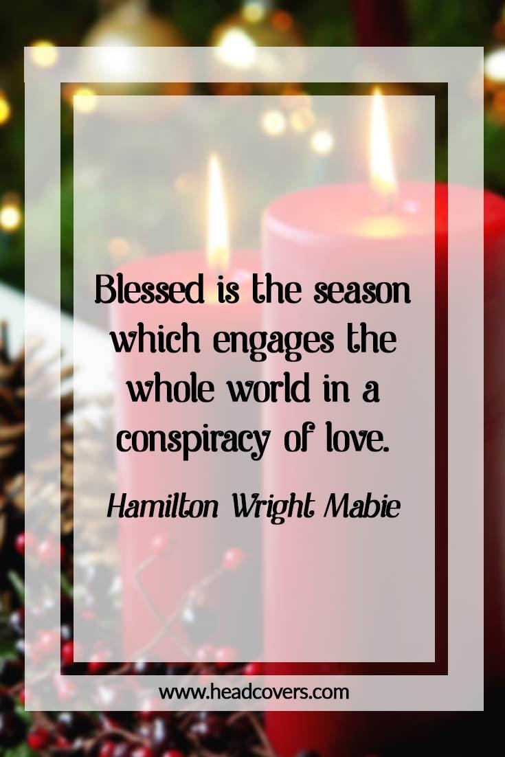 Inspirational Christmas quotes - Hamilton Wright Mabie