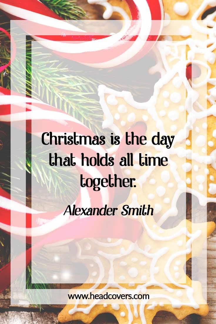 Inspirational Christmas Quotes - Alexander Smith