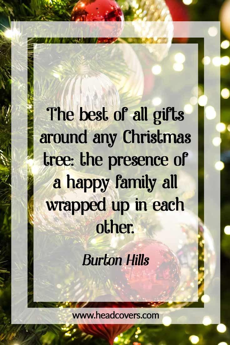 Inspirational Christmas quotes - Burton Hills