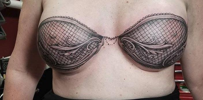 Bra Mastectomy Tattoo - Ike Trimboli