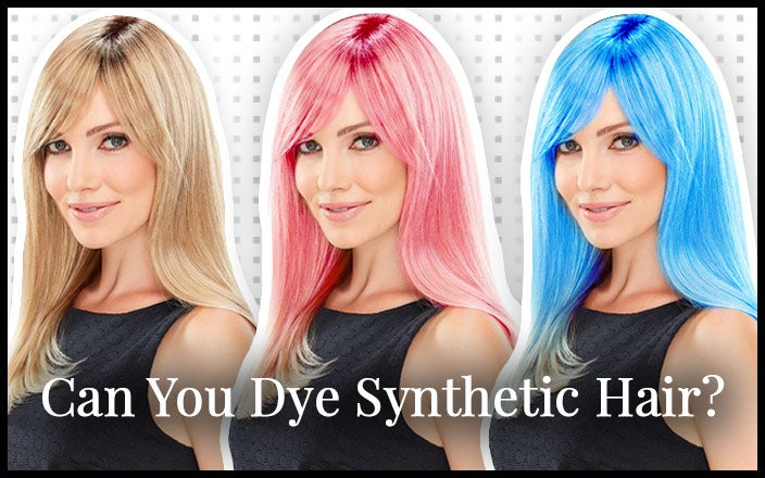 Can You Dye Synthetic Hair?