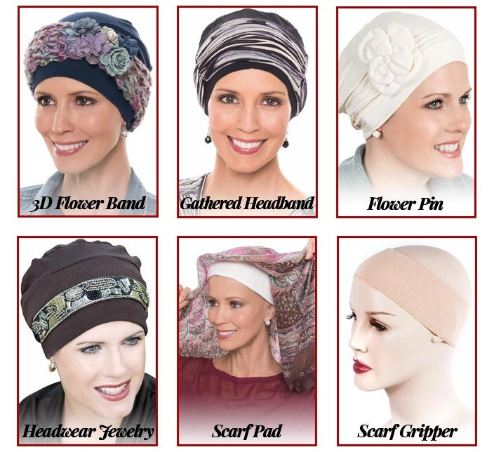 Christmas gifts for chemo - hat and scarf accessories