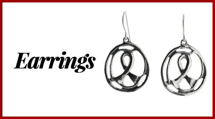 Christmas presents for cancer patients - earrings